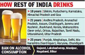 25 Age News Current Punjab India Legal Want 18 To Of Chandigarh Times Hoteliers Drinking From Down -