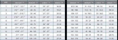 O Neill Youth Size Chart Oneill 5 4 Youth Original Fz