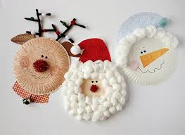Paper Plate Christmas Crafts  How Wee LearnChristmas Paper Plate Crafts
