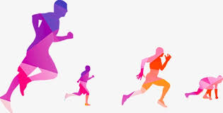 Image result for clip art runners silhouette