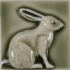 Decorative Relief Tiles LJD Rabbit 100x100 Pratt Larson 50