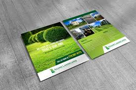 All Designs Landscape Llc Professional Bold Landscaping Flyer Design For Adams