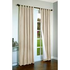 simple sliding patio door curtains