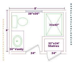 Bathroom-Design-Ideas/6x8-Bath-12x16-master-bed/Master-bath-6x8-floor |  bathrooms | Pinterest | Bathroom floor plans, Bath