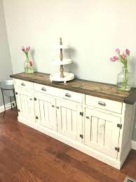 white buffet cabinet. Plain Cabinet Large Buffet Cabinet Dining Room Sideboards Buffets Kitchen  Furniture White With A