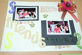 How To Complete Your First Scrapbook Page 7 Steps With