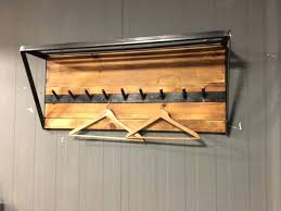 Diy Industrial Coat Rack Stunning Itsthat A Large Industrial Coat Rack Industrial Coat Rack Industrial