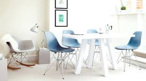 white eames chair blue and white 4 dining sets eames white replica designer chair singapore