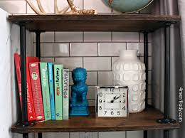 Creative diy pipe shelves design ideas Industrial Shelving Img3977 Shelving Units Plumbing Pipe Bookcase