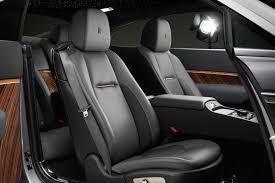 wraith car 2015 interior. no fake leather here wraith car 2015 interior