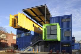 shipping container office plans. Shipping Container Architecture: Office Building - The Box By Distill Studio And Truth Plans