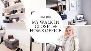 closet home office. WALK IN CLOSET \u0026 HOME OFFICE TOUR I KAJA-MARIE Closet Home Office O