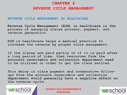 Medical Billing Rcm Flow Chart Pdf Chapter 6 Revenue Cycle Management Pdf Free Download