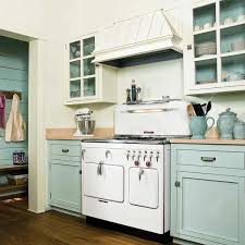 paint kitchen cabinetsClassic Kitchen Design with White Blue Mint Painted Kitchen