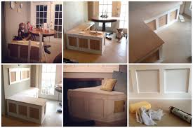 Banquette Bench Kitchen Corner Kitchen Table With Bench Plans Sawdust Designs I D Like