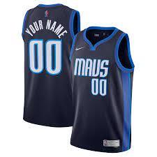 Dallas Mavericks Nike Earned Edition Swingman Trikot - Herren