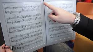Best Tablet For Reading Music Charts The Best E Readers For Musicians And Pianists
