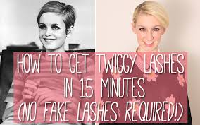 look mod with a 60 s style 15 minute easy twiggy makeup tutorial