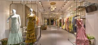 Boutique Retail Design Boutique Design Fusion Of Indian Traditional Elements With
