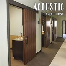 aurora doors acoustic mitigation for privacy in cal and business offices
