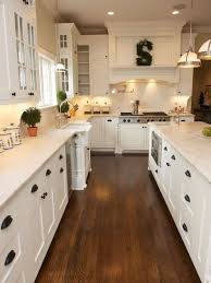 rustic white kitchens. Rustic White Kitchen Cabinets Cozy Design 25 Best 20 Wood Floors Ideas On Pinterest Kitchens Y