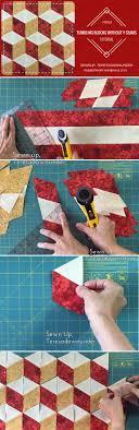 Best 25+ Quilting tutorials ideas on Pinterest | Quilting ... & Video tutorial: No Y seams tumbling blocks - easy quilting Adamdwight.com