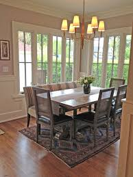 dining room table with upholstered bench. Pretty Upholstered Bench Mode Chicago Traditional Dining Room Image Ideas With Booth Chandelier Pink Wall Rustic Chair Striped Table
