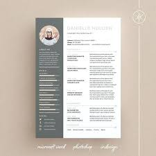 Download Modern Resume Tempaltes Resume Template Word Professional Design Cover Letter Instant