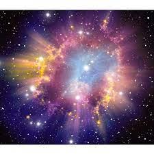 3d Starry Sky Glitter Mural Printed ...