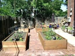 concrete raised garden beds block bed design designs white