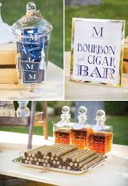 guy s party idea bourbon and cigar bar party