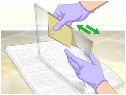 properly cut glass with a glass cutter