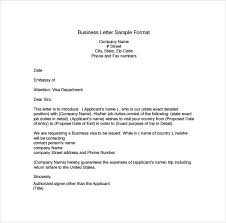 Sample Business Letters Format Sample Business Letter Format 16 Sample Business Letters Format