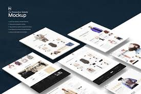 Website Mockup Template 24 Best Website PSD Perspective Mockups Design Shack 1