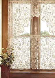 heritage lace folk art lace curtains. luv! VBEVYDA