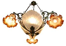 full size of antique chandelier art deco century french in bronze and frosted glass shades for