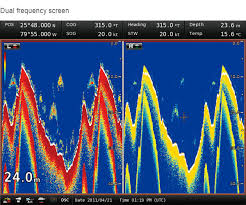 fish finder marinecommander website icom inc waypoint memorises depth and temperature at the point