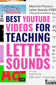 Phonics song, asl & english alphabet song. Videos For Learning Letter Sounds A Teachable Teacher