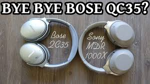 sony 1000x. sony mdr 1000x vs bose qc35 - noise cancelling wireless over-ear headphones review 2017 | dhrme #18 1000x e