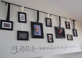 simple family picture wall ideas staircase tree decal cuttingedgeredlands family picture wall ideas family picture gallery wall