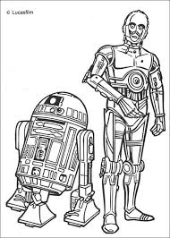 Small Picture R2 d2 and c 3po coloring pages Hellokidscom