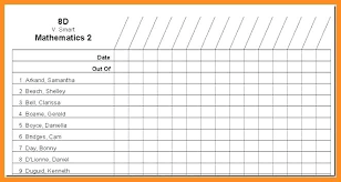 class list template word class roster template kindergarten class roster template class list