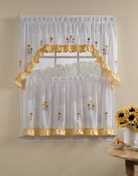 Of Kitchen Curtains Kitchen Fascinating Kitchen Curtains And Valances In Curtains
