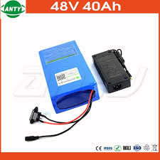 1800w lithium battery 48v 40ah for electric bicycle drive motor 48v with 54 6v charger and 50a bms 48v ebike battery diy bike battery sizes best car battery