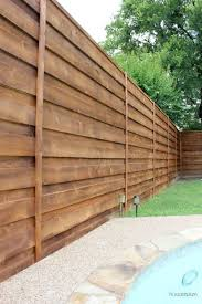 low cost diy privacy fence ideas 35