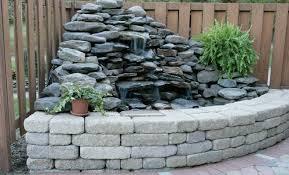 fountains backyard waterfalls backyard