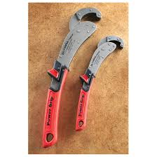 Olympia 2 Pc Power Grip Pipe Wrench Set Hand Tools