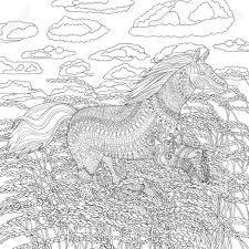 Paarden Kleurplaat Nieuw Coloring For Adults Kleuren Voor Intended