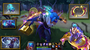 dota 2 anti mage mix set golden basher blades with guilt of the