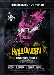 Halloween Flyers Templates 23 Best Halloween Party Flyer Psd Templates 2019
